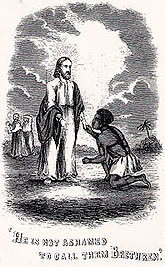 christianity in uncle toms cabin Detail of an illustration from the first book edition of uncle tom's cabin, depicting uncle tom as young and he became a christian at age eighteen and began.