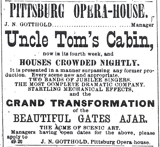 effect of uncle toms cabin David s reynolds's new book mightier than the sword analyzes the enormous  impact of uncle tom's cabin and shows how it broadened and.